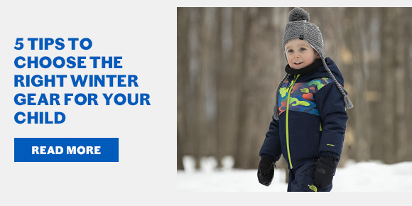 5 Tips to Choose the Right Winter Gear for Your Child