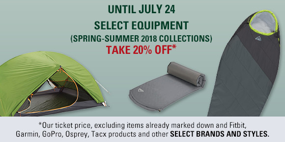 select equipment summer sale 20 precent off until july 24