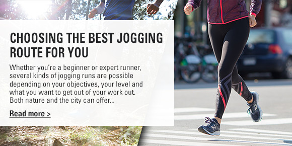 choosing best jogging route blog